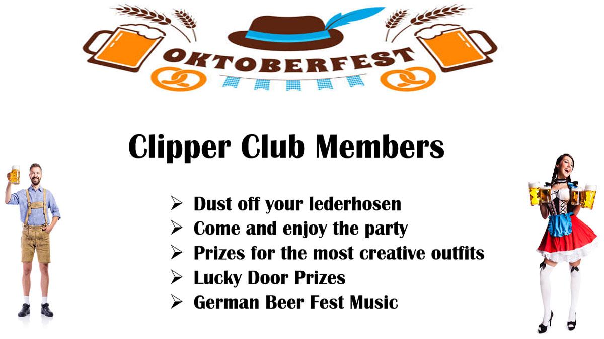 Clipper Club OktoberFest